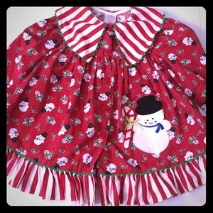 Other - 🚨Vintage Christmas snowman Toddler dress